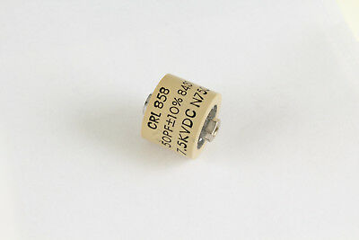 50pf 7500v Ceramic Transmitting Rf Rated Capacitor 7.5kv Dc 7500 Volts 50 Pf