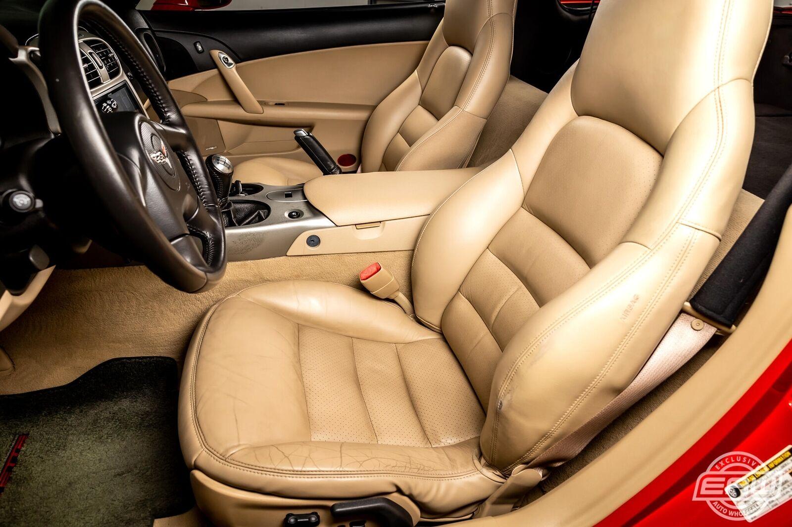 2005 Red Chevrolet Corvette Coupe  | C6 Corvette Photo 5