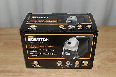 Bostitch Quietsharp Executive Electric Pencil Sharpener Black