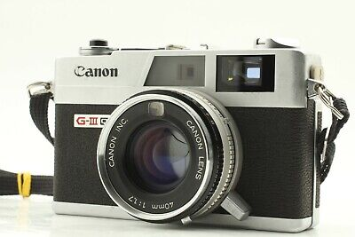 🌟 Near Mint 🌟 Canon Canonet QL17 GIII 35mm Rangefinder Film Camera from Japan