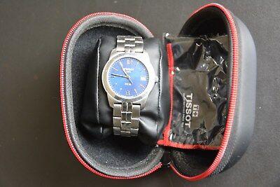 Tissot PR50 Swiss Mens Stainless Steel Quartz Dress Watch 1853 Sapphire Crystal