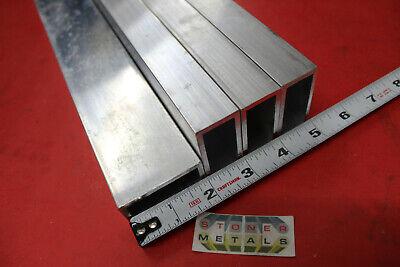 4 Pieces 1x 2x 18 Wall Aluminum Rectangle Tube 52 Long 1.0x 2.0 6063 T52