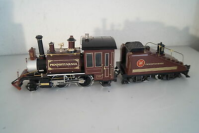 G Scale: LGB 2219 S US Steam Locomotive with Tender Pennsylvania, Top for sale  Shipping to United Kingdom