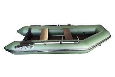 FISH330 grün Angelboot Sportboot Schlauchboot Paddelboot Ruderboot ZARmini