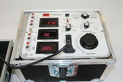 Megger Multi-amp Avo Cter-91 Calibrated