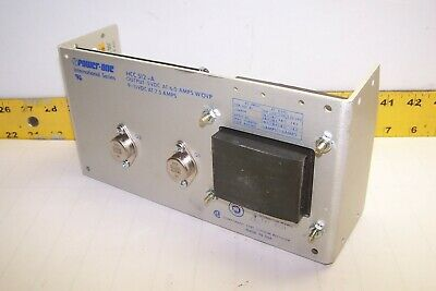 New Power-one Power Supply In 100-240v Out 5 Vdc 6a 9-15 Vdc 2.5a Hcc512-a