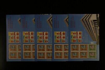HONG KONG #651Ai 1992 CLASSIC S/S #8 VF MNH x 5 sheets CV$40.00 (k062)