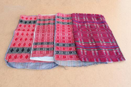 Antique Primitive Pillows Pillowcases Homespun Fabric Weave Tissue about 1910