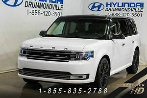 Ford Flex Limited + AWD + ENSEMBLE APPARENCE + GARANTIE + NAVI +