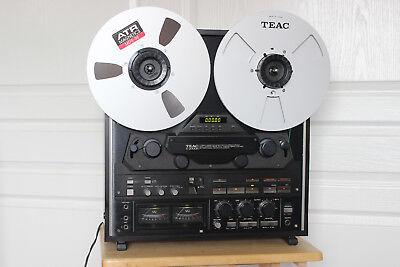 Teac X-2000R Reel To Reel Tape Deck: Super Clean W/ Accessories See Vid