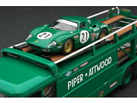 BOS Ferrari 250 LM #21 grün Le Mans 1968 87623-1:87 Attwood// Piper
