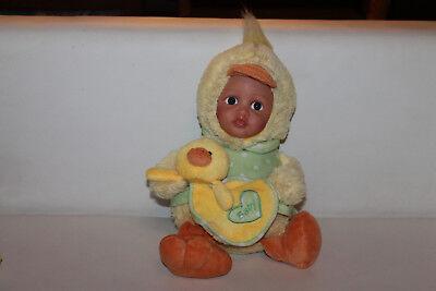 te Puppe Kostüm Ente Mädchen Stofftier Kuscheltier Schmusetier 35cm RAR TOP