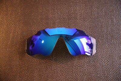 PolarLenz POLARIZED Ice Blue Replacement Lens for-Oakley Jawbreaker Sunglasses