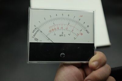 Sifam Meter Big Wf Volt Distortion Drift Rare New Nos 42af Made In England