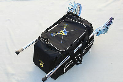 LACROSSE EQUIPMENT BAG CUSTOMIZED with Player Name, #, and Team logo FREE Custom Player Equipment Bag