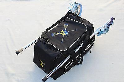 PLAYER COACH LACROSSE GEAR BAG FREE CUSTOM EMBROIDERY Custom Player Equipment Bag