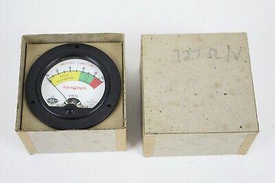 Benwood Linze Co. Voltage Battery Gauge Supercharger - New In Box - Vintage Usa