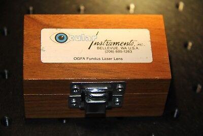 Ocular Instruments Ogfa Fundus Laser Lens
