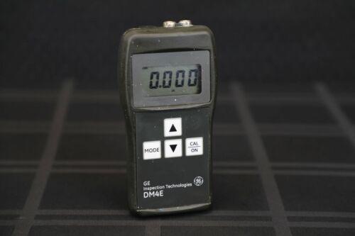 GE Inspections Krautkramer DM4E Ultrasonic Thickness Gauge-NDT-NDI-UT