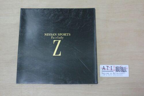 Rare JDM Nissan Fairlady Z 300zx  book sales brochure catalogue