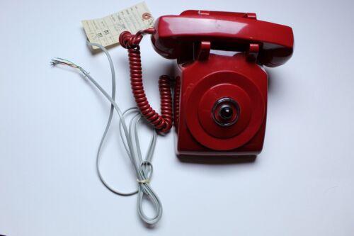 Vintage Red Crash Alarm Batman Replica Phone
