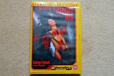 THE CASE OF THE BLOODY IRIS   ( SHAMELESS )  BRAND NEW SEALED GENUINE UK DVD