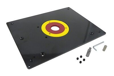 Router Table Mounting Base Plate 3/8