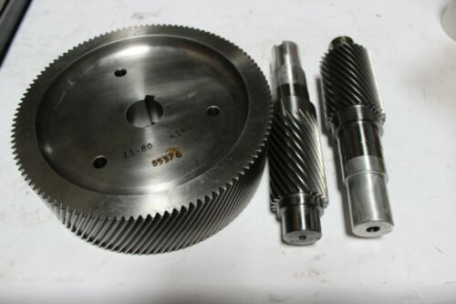 MTC Gear Corp 535662 Gear Set Spur Matched New