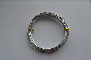 Aluminium Jewelry Craft Wire  COLOURS & SIZES 1mm 1.5mm 2mm