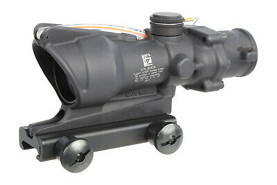 Trijicon ACOG 4x32 Scope - Red Dual Illuminated Chevron Reticle