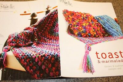 - Colinette Knitting Pattern Book Toast & Marmalade Throws