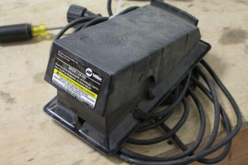Miller RFCS-14HD Welder Foot Pedal Control