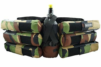 PaintNoMore 6+1 Battlepack camo Airsoft Paintball PaintNoMore (1110)