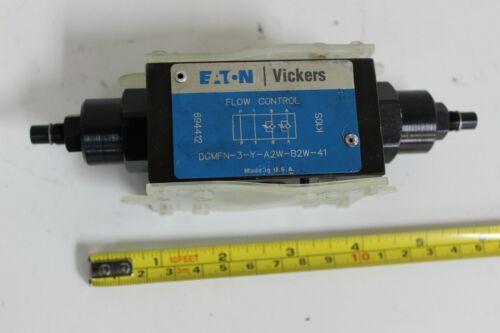 Eaton Vickers DGMFN-3-Y-A2W-B2W-41, 694412 Hydraulic Flow Control Valve New