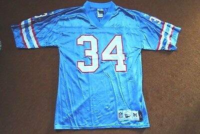 Earl Campbell Houston Oilers Throwback Trikot Gr.M NFL Vintage Collection Reebok