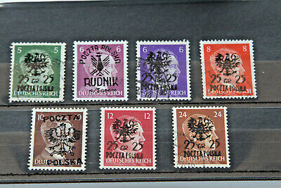 """POLAND - RANGE OF """"BOGUS"""" STAMPS - 1940's MINT AND USED - LOCAL/PRIVATE ISSUE"""