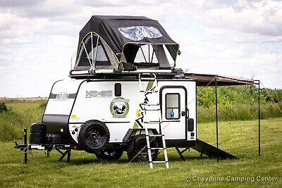 New 2021 NOBO 10.6 Off Road Adventure Toy Hauler Travel Trailer For Sale