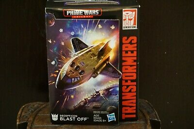 Transformers Generations Prime Wars Trilogy Decepticon Blast Off & Megatronus