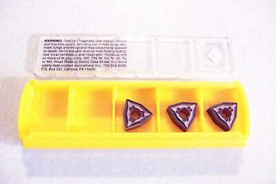 New 3 Pcs - Wnmg 331fw Grade Kcp10 Coated Inserts Kennametal