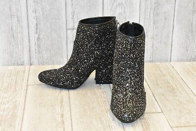 G by Guess Nite3 Boots - Women's Size 5.5M, Black Glitter - Glitter Boots