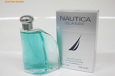 Nautica Classic 3.4oz 100ml Spray  Eau de Toilette For Men