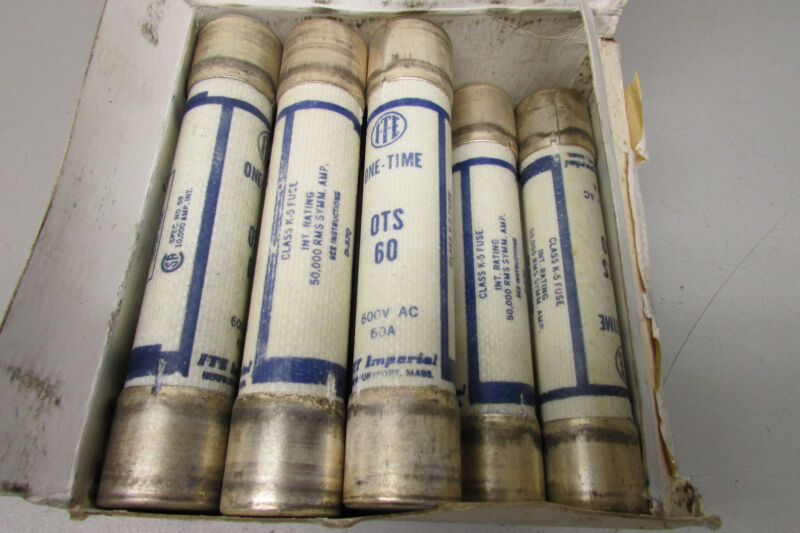 ITE OTS60 One Time Fuse 100A Lot of 8!