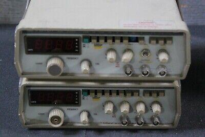 Lot Of 2 Gw Instek Gfg-8020h 2mhz Function Generator Hn H17