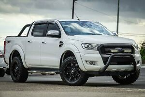 2016 Ford Ranger PX MkII XLT Double Cab White 6 Speed Sports Automatic Utility Greenacre Bankstown Area Preview