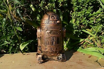 Star Wars R2-D2 Reconstituted Stone Ornament Bronze Infusion -Free UK P&P