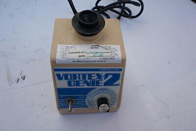 Vwr Genie 2 Vortexer Vortex Shaker Mixer Used Lab  Rotator Mini Touch Clzg
