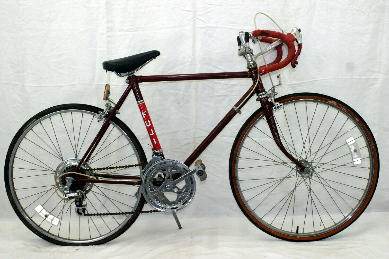 "Fuji Vintage Touring Bike XS 48cm 24"" Dia-Compe Suntour Japan Made Steel Charity"