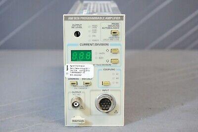 Tektronix Am5030 Current Probe Amplifier Plug In