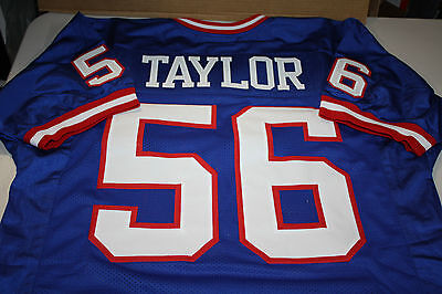 Lawrence Taylor Sewn Stitched  Lt  Jersey Hof 1999 Size Xlg Mvp Super Bowl Champ