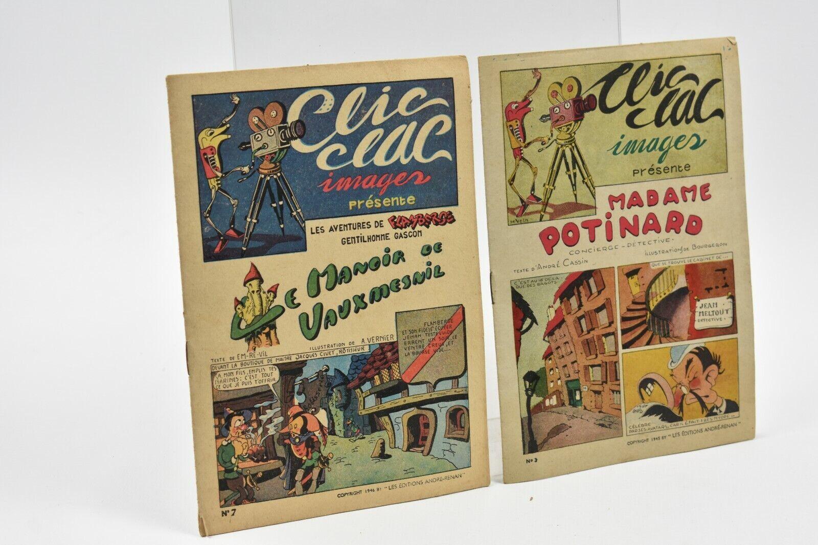 Clic clac images le manoir de vauxmesnil/madame potinard n°7-3
